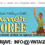 Swing tečaji društvo Vintage
