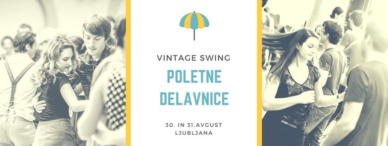 Swing poletne delavnice Vintage Swing