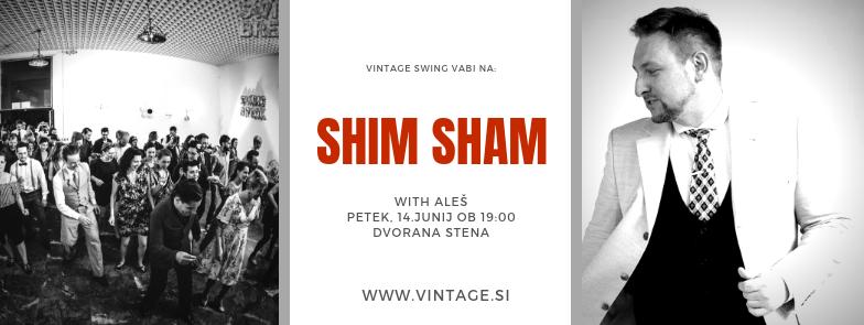 Shaim Sham swing delavnica Vintage Swing
