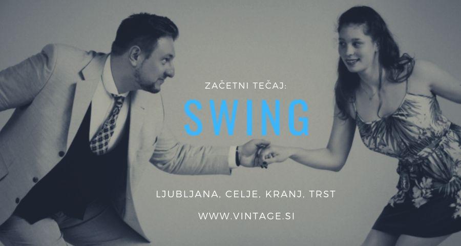 swing tečaj, swing za začetnike, začetni tečaj swinga