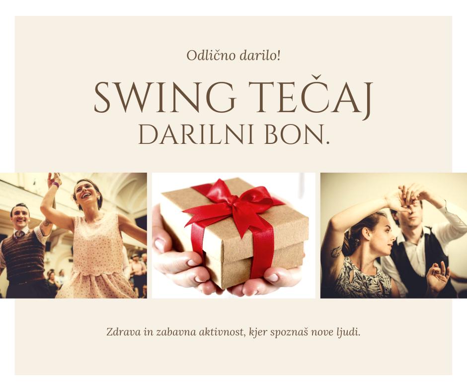 darilo swing tečaj darilni bon